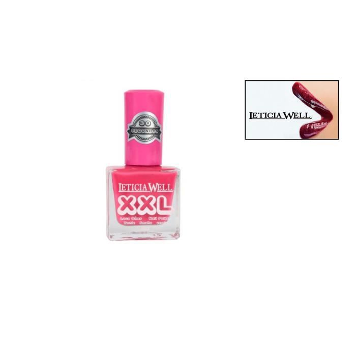 Vernis A Ongles Rose Framboise N 317 Xxl Leticia Well Achat
