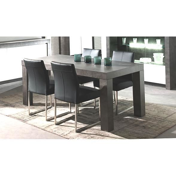 table de repas effet b ton 39 colora 39 achat vente table manger seule table de repas effet. Black Bedroom Furniture Sets. Home Design Ideas