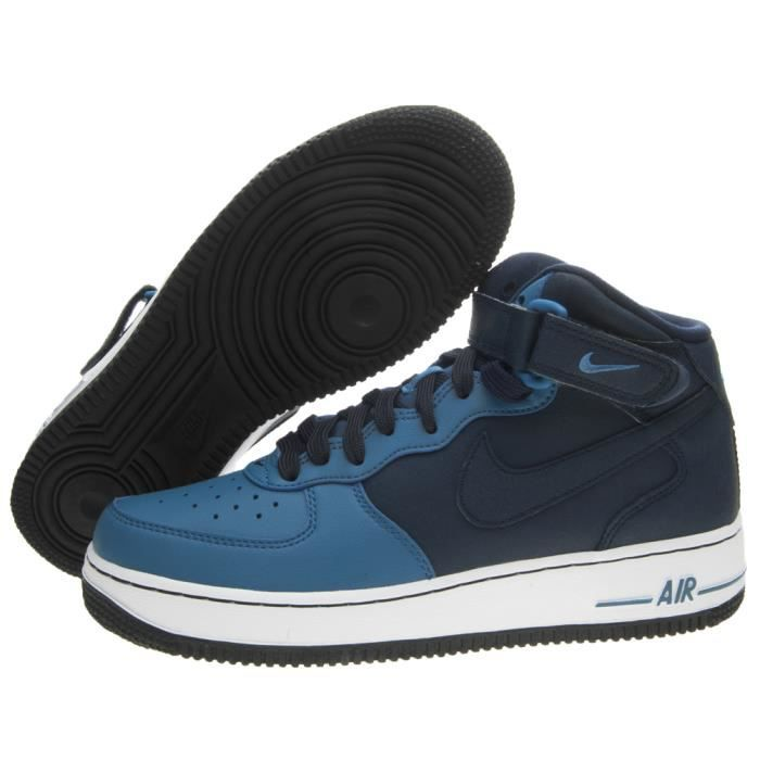 BASKET NIKE AIR FORCE 1 MID (GS) TAILLE 38.5 COD 314195-406
