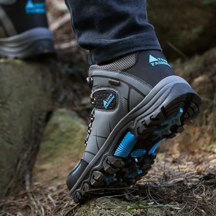 Bottes pour Hommegris 13 Outdoor Sport Army Men Désert Botas Chaussures de randonnée Automne Voyage Homme_46629