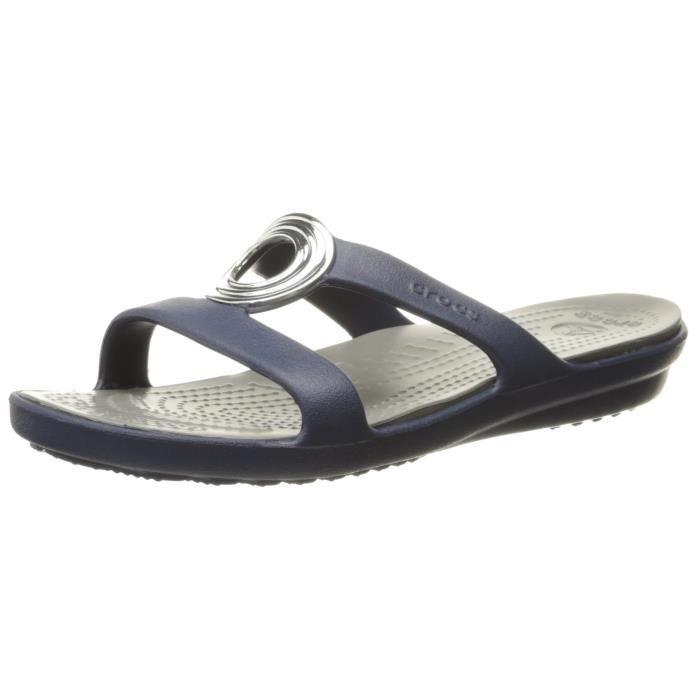 Crocs Sandale de cercle biseauté sanrah féminin IXK44 37