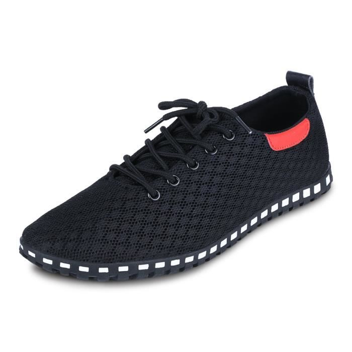 Chaussures Casual Respirant Tissu Mesh U1PIT Taille-43