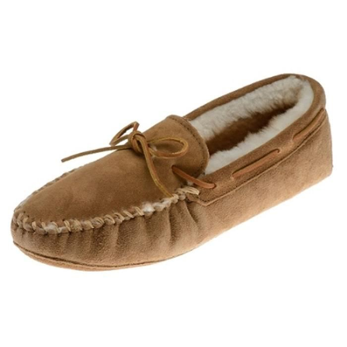 3711x - Sheepskin Softsole Moccasin Xl LUEMI Taille-50 n6FHTP