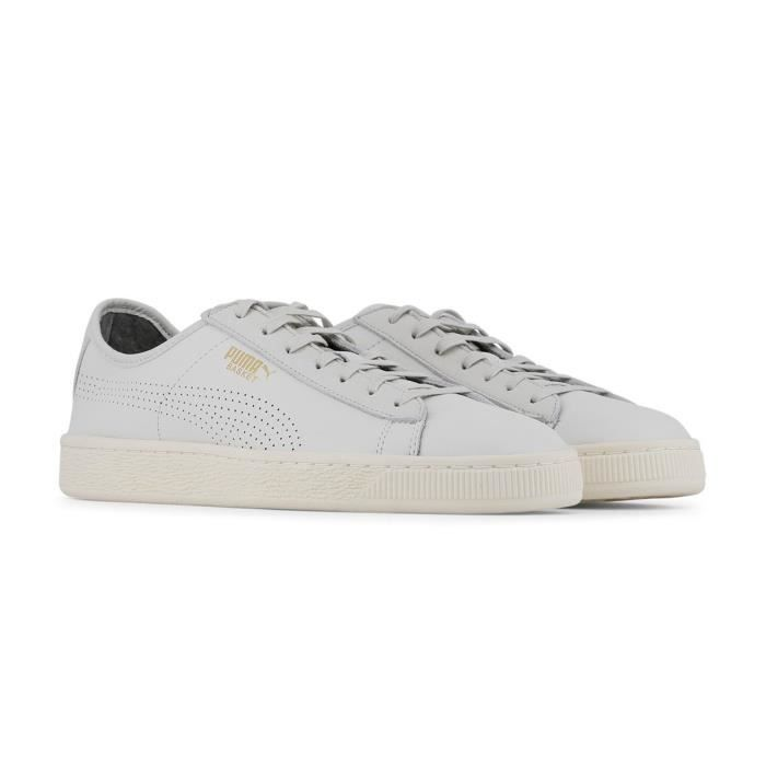 Puma - Baskets / Sneakers homme Classic Soft - Blanc