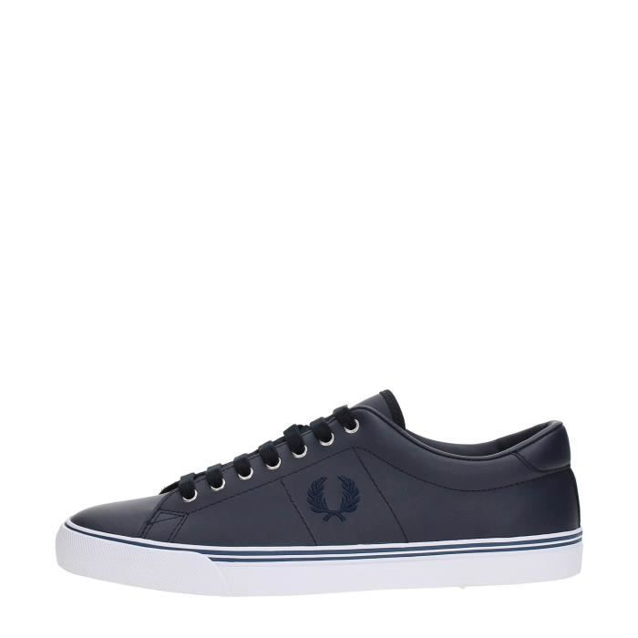 FRED PERRY Sneakers Homme NAVY, 40