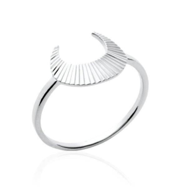 BAGUE - ANNEAU Bague anneau fin femme - argent massif 925 rhodié