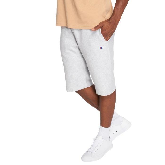 47e62645e9db Champion Homme Pantalons   Shorts   Short Classic Gris Gris - Achat ...