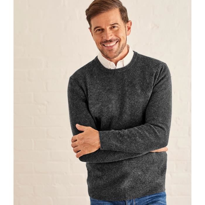 Woolovers Rond Col Homme Pull D'agneau À Laine Pk8Own0X