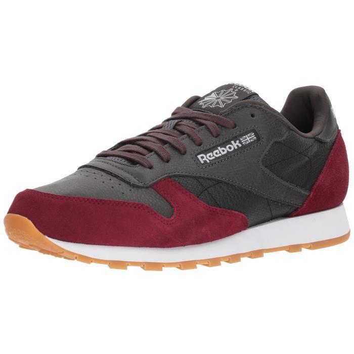 43 Classic Sneaker Reebok Men's Leather Gtmac Taille dCxBoe