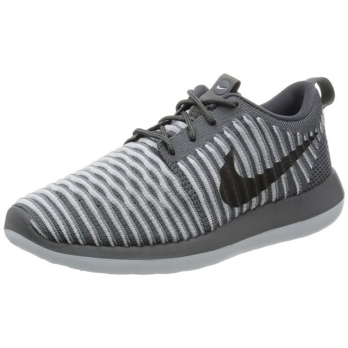 Deux Nike Kh9ee Femmes Roshe Flyknit Shoe V2 40 Des Running Taille shrtxdQCoB