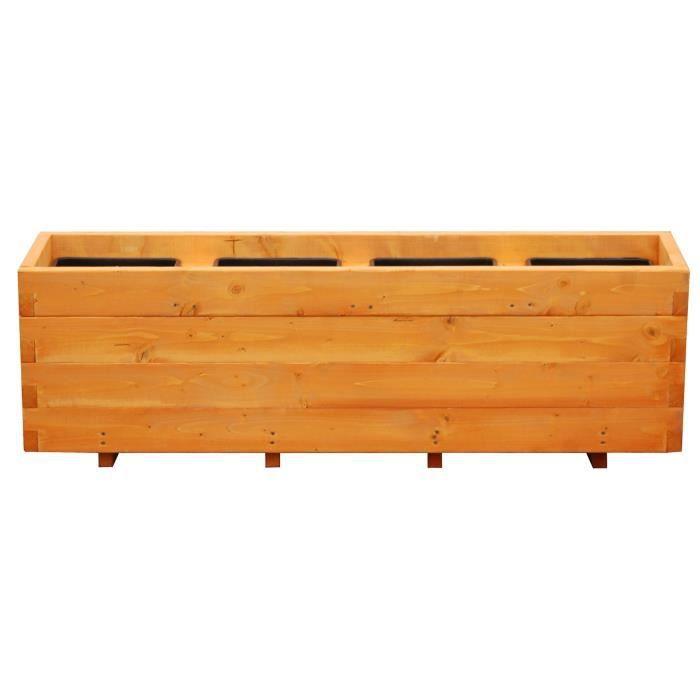 Jardiniere bois autoclave - Achat / Vente pas cher