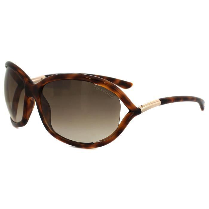 d385b802cf66dc Tom Ford Sunglasses 0008 Jennifer 52F Dark Havana Brown Gradient ...