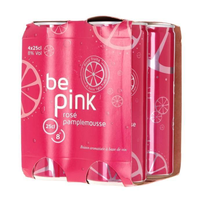 VIN ROSÉ Boisson à base de Vin - Rosé Pamplemousse - cannet