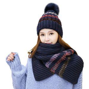 92c41b699d0c ... BONNET - CAGOULE Ensemble bonnet et écharpe d hiver ...