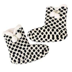 Sidneyki®Femmes dames coton chaud pantoufles d'intérieur doux en peluche de noël chaussures A WE690 VUYig8L3