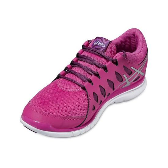 ASICS GEL FIT TEMPO 2 S563N 2193 Baskets Rose Achat