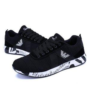 Chaussures De Sport Pour Hommes en daim Textile De Course Populaire WYS-XZ126Blanc41 PC4IMbr