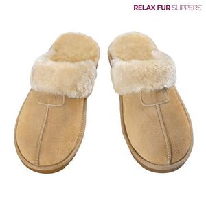 Chaussons Relax Fur (Marron - 41) kNZqJAl
