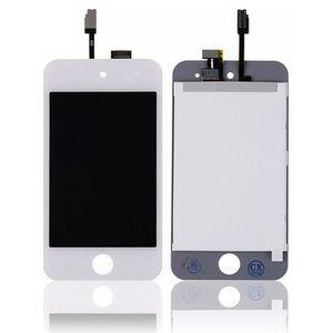 Pièce détachée ENSEMBLE ECRAN LCD + VITRE TACTILE IPOD TOUCH 4 BL