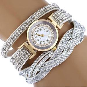 MONTRE Strass bracelet femmes montre quartz montre-bracel