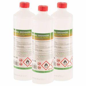 AIDE A L'ALLUMAGE Bioéthanol en gel 90 x 1 L