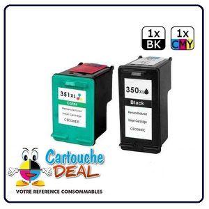 CARTOUCHE IMPRIMANTE Pack Cartouche générique compatible HP 350 HP 351