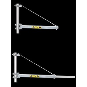 TREUIL - PALAN Potence bras telescopique pour palan electrique