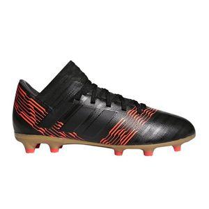 CHAUSSURES DE FOOTBALL Chaussures football adidas Nemeziz 17.3 FG Noir-Or  ...