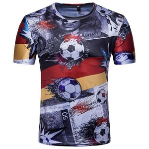 0d7f1f9506811 T-SHIRT Whatlees T-Shirt Homme Slim Fit FIFA Football Coup