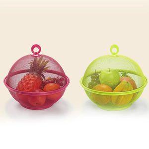 PORTE FRUITS - COUPE  Couleur aleatoire Fer a mailles Panier de fruits R