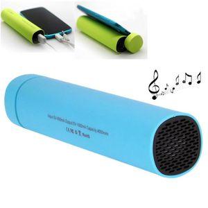 ENCEINTE NOMADE Mini Enceinte Bluetooth Bleu Pour Iphone, Galaxy,