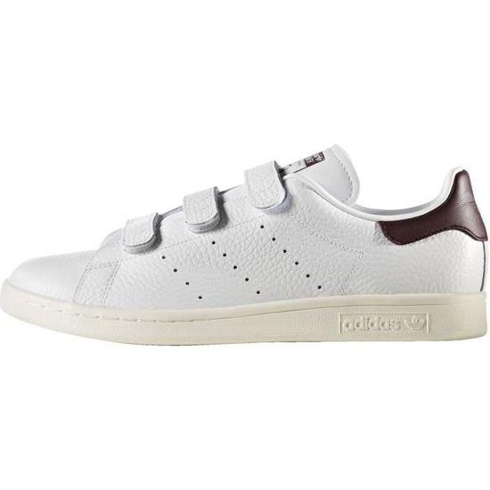 Basket adidas Originals Stan Smith - BZ0534 Blanc Blanc - Achat / Vente basket