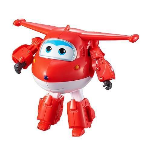 Transformation d'avion en robot taille moyenne à c ollectionner Jett - A partir de 3 ansFIGURINE MINIATURE - PERSONNAGE MINIATURE