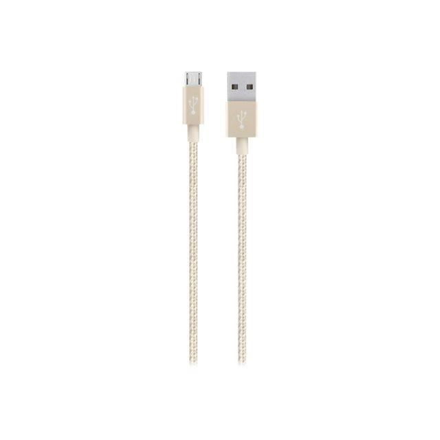 CABLE MICRO USB ANDROID 2,4A GOLD