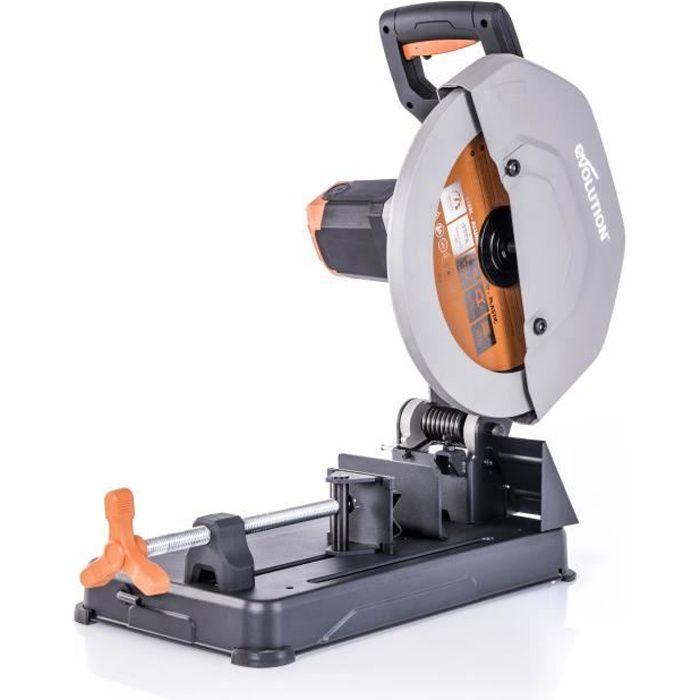 EVOLUTION Power Tools Tronçonneuse multi matériaux R355CPS