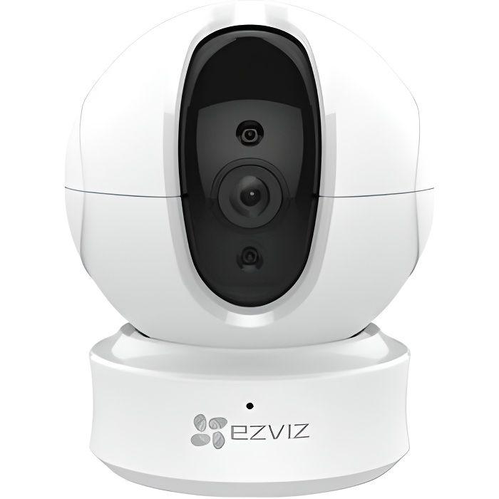 EZVIZ Caméra de surveillance C6CN 1080p dôme - Sans fil avec vision nocturne - WiFi