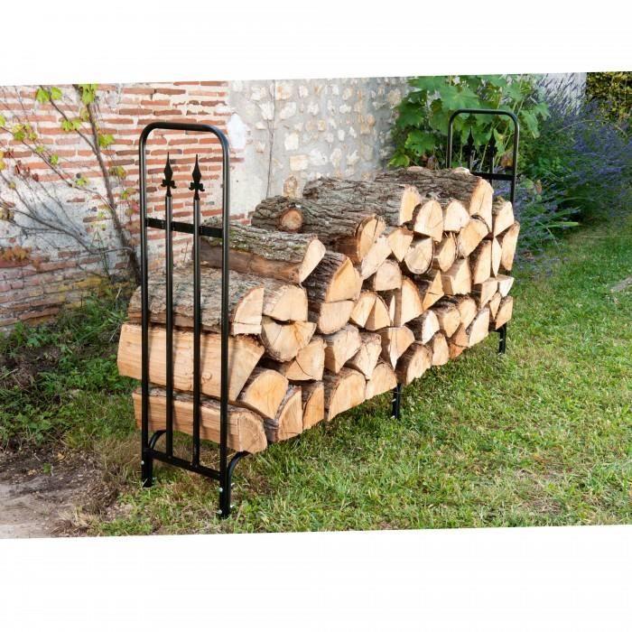 range buches en metal permet de stocker vos buches a l. Black Bedroom Furniture Sets. Home Design Ideas