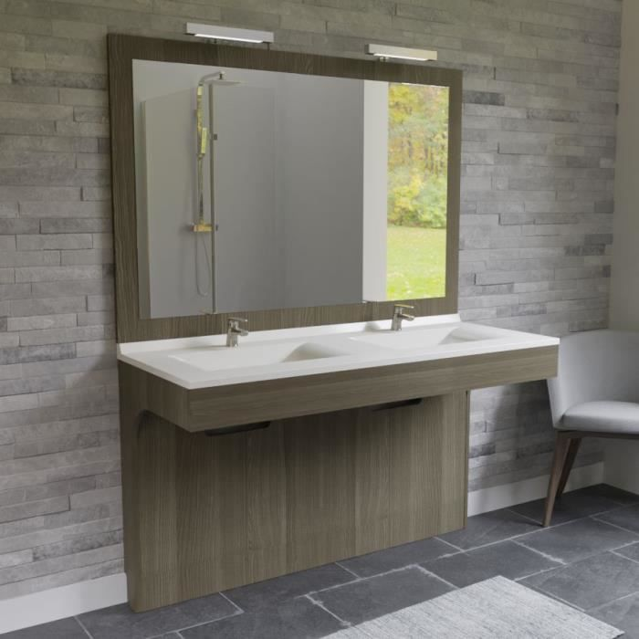Meuble Salle De Bain Double Vasque La Plus Moderne Achat Vente