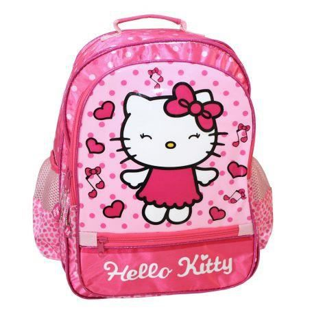 Sac à dos Hello Kitty maternelle Rose xeWD8tB