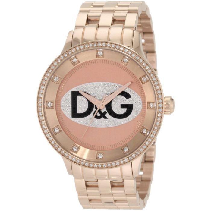 2d4ab386169 Montre Femme Dolce   Gabbana D G DW0847 Prime Time Acier