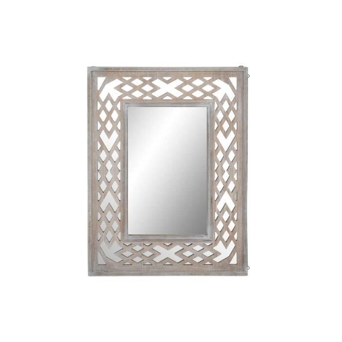 Miroir Romantique En Bois