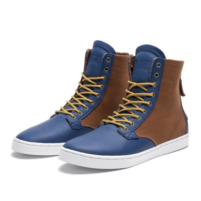 Shoes SUPRA WOLF NAVY / BROWN - ...