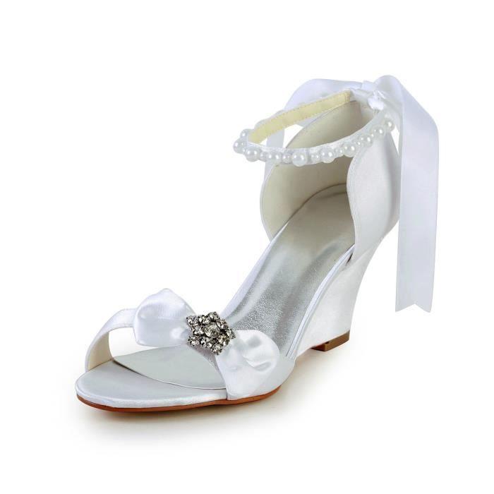 Jia Jia Wedding 4096A chaussures de mariée mariage Escarpins pour femme OvNdDm9