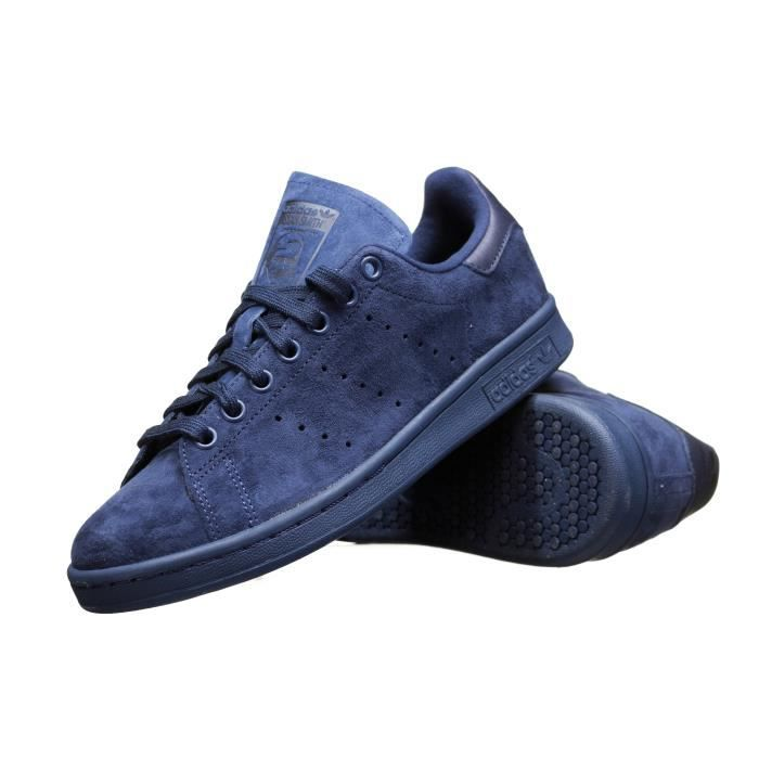 Sneakers  - Page 2 Chaussure-adidas-stan-smith-s75107-marine