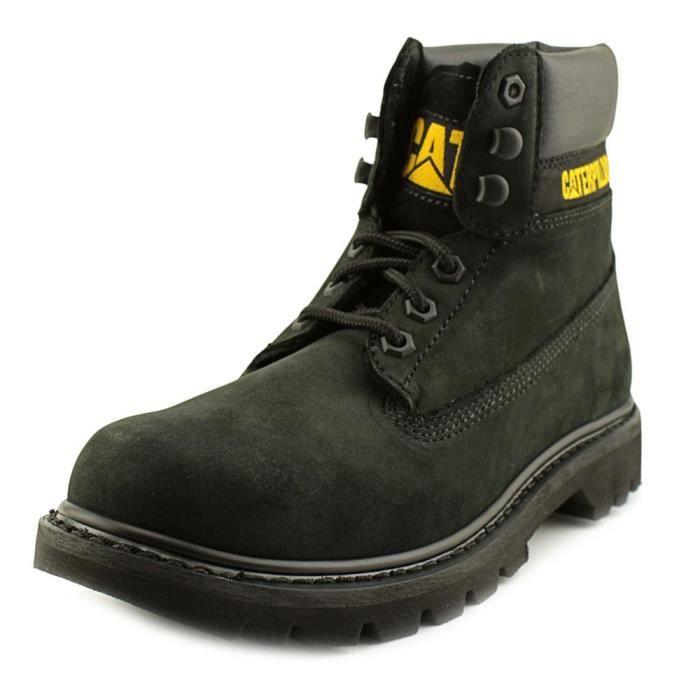 Colorado Chill Travail Chaussure Noir Caterpillar Cuir Hommes De fBvPq1w