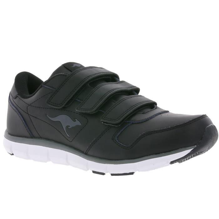 KangaROOS K-BlueRun 700 B Sneaker noir avec poche intérieure 1HPRqZGzFM