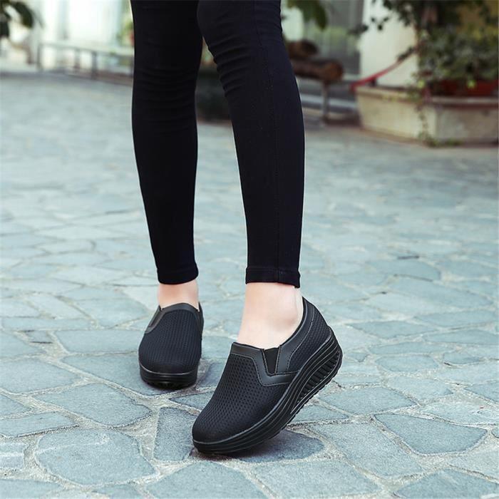 Résistantes Sneakers noir Cool Sandale bleu Femme Loisirs1 Rose Qualité Meilleure Respirant À Poids gris Chaussures 2018 Plus L'usure De Classique PPAwq6T