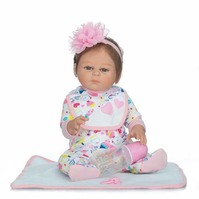 098b74eba3fc7 Vente chaude 20   Looklike Bébé Reborn Poupées avec Mohair 50 cm ...