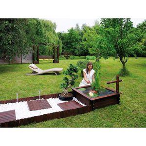 Bassin de jardin bois achat vente bassin de jardin bois pas cher cdiscount - Bassin carre bois mulhouse ...