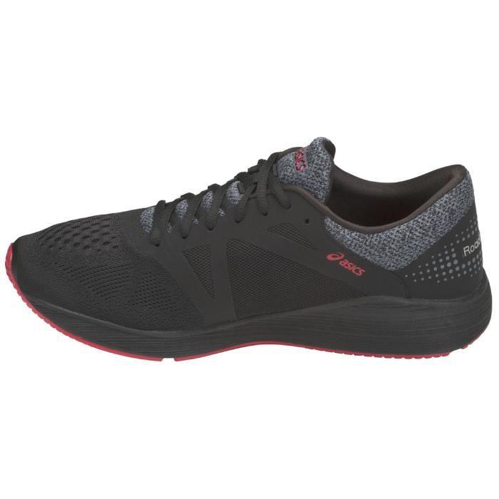 Asics RoadHawk FF T7D2N-9097 Homme Chaussures de running Noir